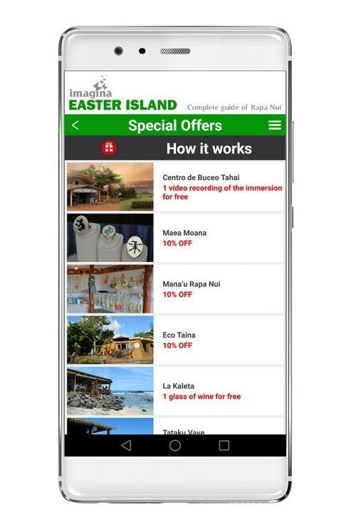 Easter Island Offers App