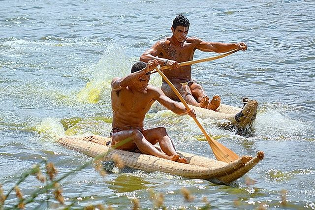 Vaka Ama competition during Tapati Festival