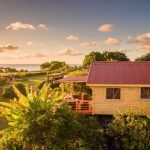 Cabins on Easter Island with ocean view