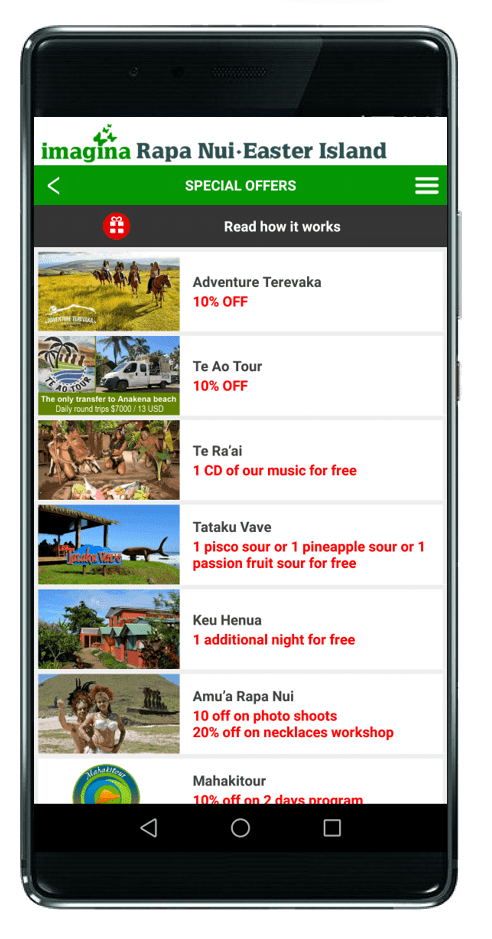 Easter Island App Offers