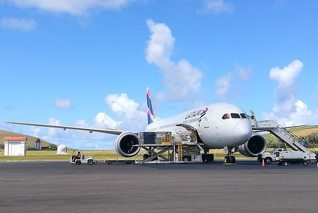 Latam Airlines is the only airline that flies to Easter Island