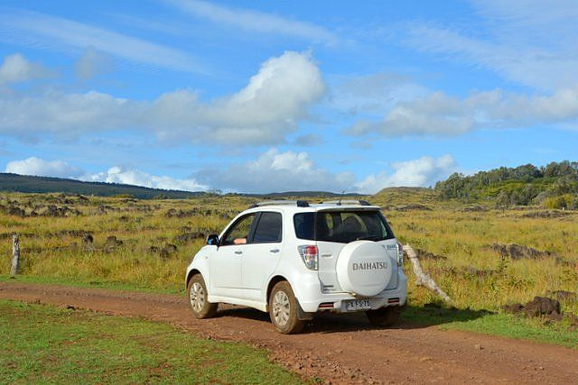 Vehicle for rent in Easter Island