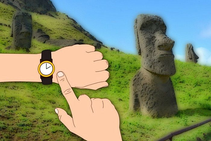 Easter Island time