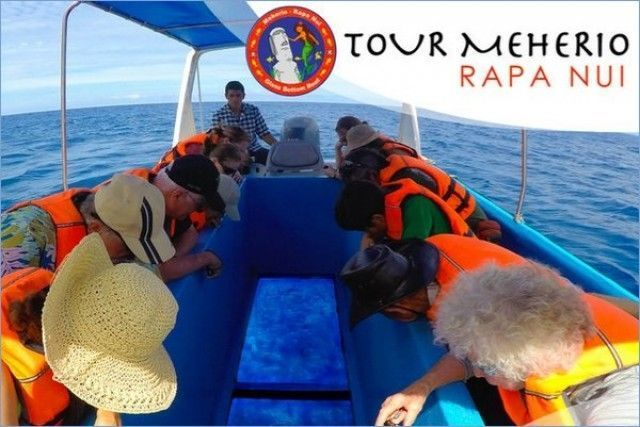 Meherio Rapa Nui Glass Boat Easter Island boat rides